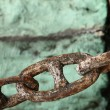 Rusty chain - Stockfoto