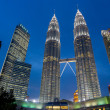 Petronas towers — Stock Photo #16201687