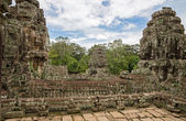 Bayon wide view — Stock Photo