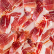 Stock Photo: Jabugo ham plate closeup