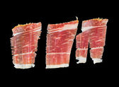 Serrano ham slices — Stock Photo