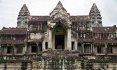 Angkor wat-eingang — Stockfoto