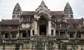 Angkor wat ingången — Stockfoto