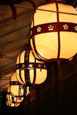 Lights in kyoto — Stock Photo