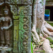 Stock Photo: Ta Prohm embossing