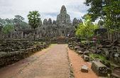 Bayon tempel eingang — Stockfoto