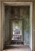 Angkor Wat corridor — Stock Photo