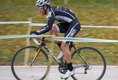Cyclo-cross — Stock Photo