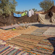 Bedouin tent — Stock Photo