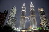 Petronas towers — Stock fotografie