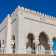 Mausoleum of Mohammed V in Rabat - Stock Photo