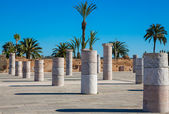Square with columns — Stock Photo