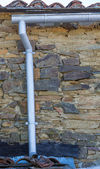Old gutter — Stock Photo