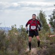 Постер, плакат: Hard marathon mountain race