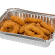 Onion Rings to take away — Stock Photo