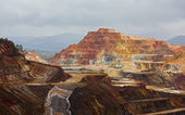 Rio Tinto mine — Stock Photo