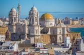 Kathedrale von cadiz — Stockfoto
