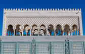 Mausoleum of Mohammed V in Rabat — Stock Photo