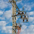 High tension tower — Stock Photo