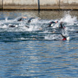 Stock Photo: Swimming blurred motion