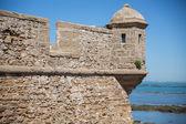 Merlon fortaleza — Foto de Stock