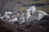İzlanda'daki svinafellsjokull — Stok fotoğraf