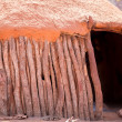 Traditional huts of himba people — Stock Photo #32049817