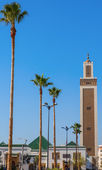 Mohamed V mosque — Stock Photo