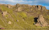 Track through Iceland — Stock Photo