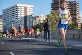 Valencias Marathon — Stockfoto