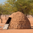Traditional huts of himba people — Stock Photo #36250653