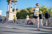 Maratona di valencia — Foto Stock