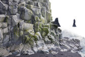 Reynisfjara rock formations — Stock Photo