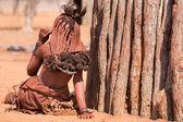 Donna himba — Foto Stock