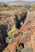 Epupa waterfalls — Foto Stock