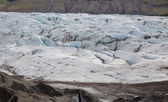 Svinafellsjokull w Islandii — Zdjęcie stockowe