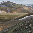 Landmannalaugar track, Iceland — Stock Photo