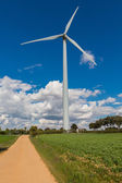 Windkraftanlage — Stockfoto