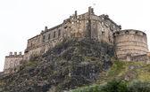Kasteel van edinburgh op kasteel rots — Stockfoto