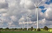 ветровые турбины — Стоковое фото