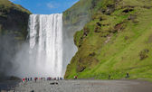 Skogafoss waterfall — Stock Photo