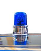 Blue light on white — Foto de Stock