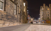 Royal Mile at night, Edinburgh — Stock Photo