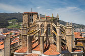 Church of Castro Urdiales, Cantabria, Spain. — Stock Photo