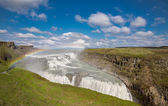Waterfall Gullfoss, Iceland — Stock Photo