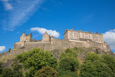 Edinburgh Castle on Castle Rock — Stock Photo