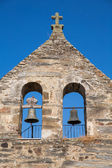 Stone Church in Rihonor de Castilla — Foto Stock
