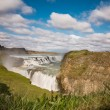 Waterfall Gullfoss, Iceland — Stock Photo