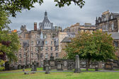 Old cemetery in  Edinburgh, Scotland. — Stock Photo