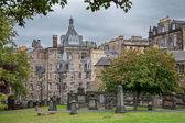 エジンバラ、スコットランドの古い墓地. — ストック写真